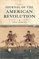 Image of cover of 2017 annual volume book of 'Journal of the American Revolution'.