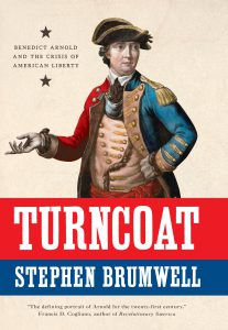 "Available from <a href=""https://www.amazon.com/Turncoat-Benedict-Arnold-American-Liberty/dp/030021099X/ref=sr_1_1?s=books&ie=UTF8&qid=1523811576&sr=1-1&keywords=turncoat&dpID=51wg7nZh-HL&preST=_SY291_BO1,204,203,200_QL40_&dpSrc=srch"">Amazon US</a> or Amazon UK"