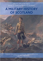 Image of cover of book 'A military history of Scotland', to which Stephen Brumwell contributed a chapter.