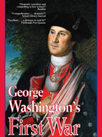 Image of box cover of the Paladin Communications 2003 dvd or video 'George Washington's First War'.