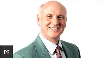 Photo image of Howard Leader of BBC Radio Lincolnshire, UK.
