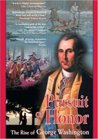 Image of box cover of the Paladin Communications 2006 dvd or video 'Pursuit of Honor'.