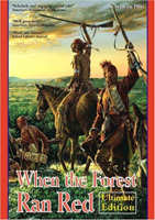 Image of box cover of the Paladin Communications 2004 dvd or video 'When the Forest Ran Red'.